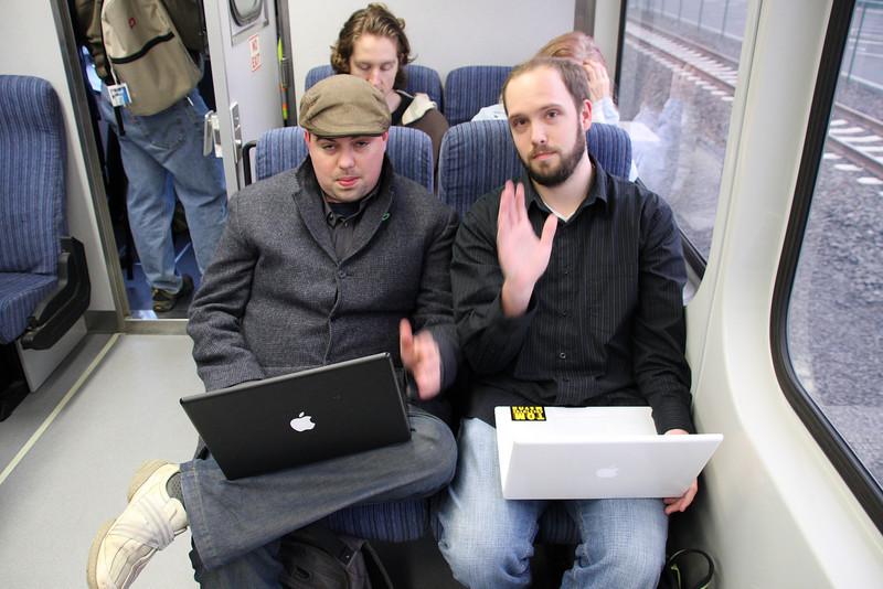 Julian of PDX Pipeline & Christian of Trimetiguette.