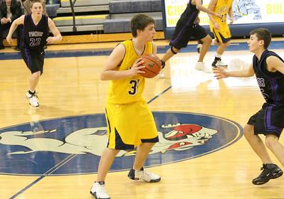Pioneer at Chelsea - JV basketball 2007