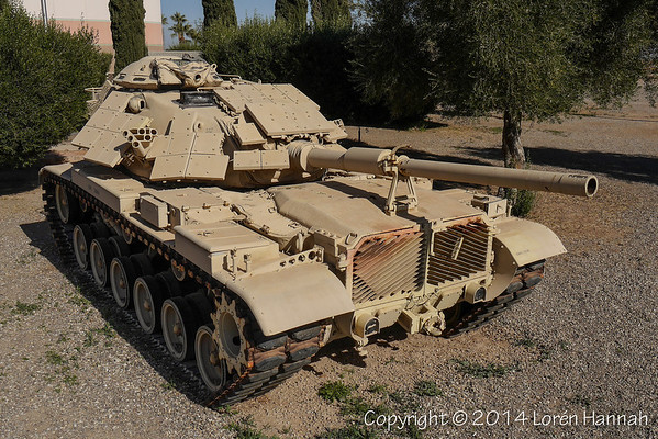 Pioneer Museum - Imperial, CA - M60A1 with ERA