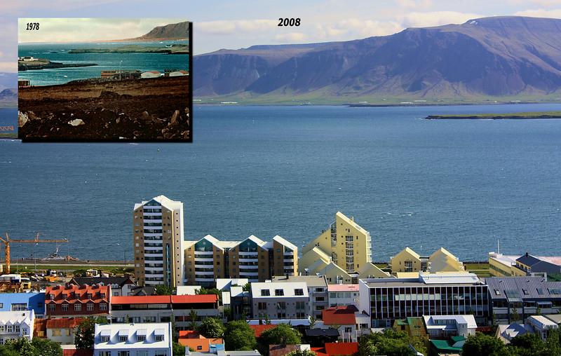 Reykjavik Looking North