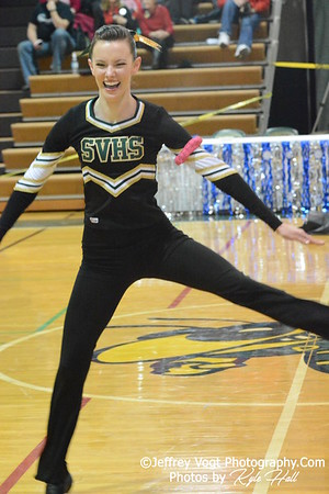 1-17-2015 Seneca Valley HS Varsity Poms at Damascus HS Invitational, MCPS Championship, Photos by Jeffrey Vogt Photography with Kyle Hall