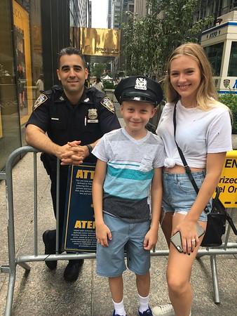 NYC Jax, Kat Police Hat