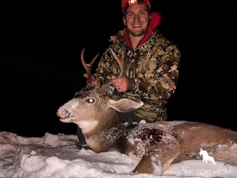 2018 Late Season High Country blacktail deer (Washington)