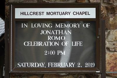 In Memory Of Jonathan Romo