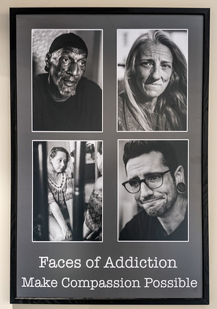 Faces of Addiction Gallery Showing