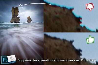 Supprimer les aberrations chromatiques avec Photoshop