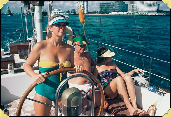 Bahamas 1982.01  with Bob Buck & Carolyn P