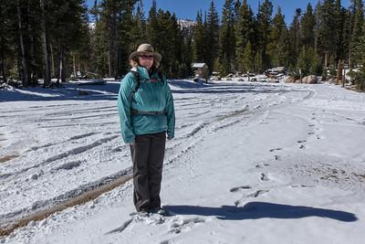 2014 Hike to Wall Lake (with Kathy)