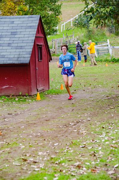 Ciorsdan Conran 2018 - Finish Line of Five Miler