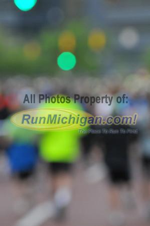 Pre-Event and 5K Heat A Start - 2012 Fifth Third River Bank Run