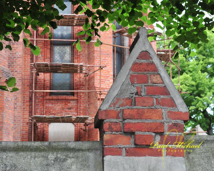Interesting detail in the bricks.