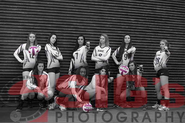 Mountain RAGE Volleyball Team Photos