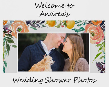 Andrea's Wedding Shower   June 24, 2018