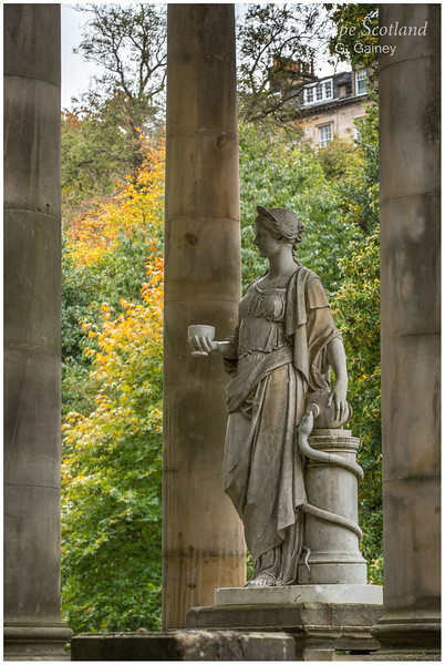 Hygea statue, Saint Bernard's Well, Stockbridge (1)