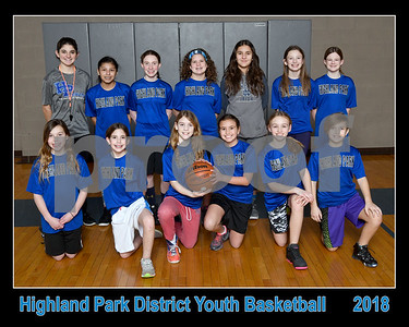 Highland Park Basketball 2018