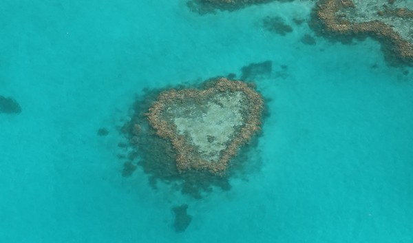 JULY 9, 2018 SCENIC FLIGHT OVER WHITSUNDAY ISLANDS AND BARRIER REEF