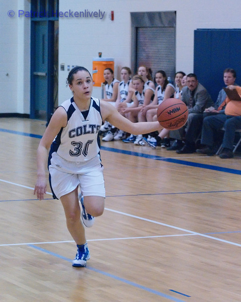 2011-02-07 Girl's JV Basketball