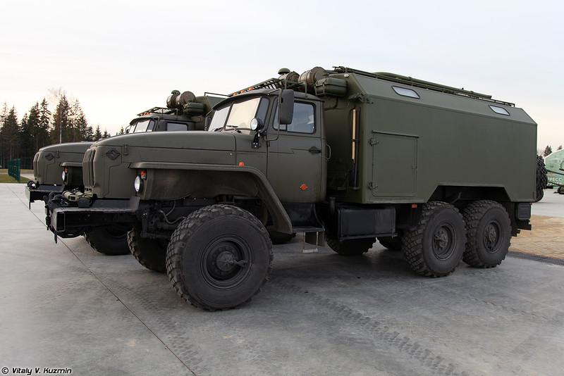Мастерская технического обслуживания МТО-АМ1 (MTO-AM1 maintenance vehicle)