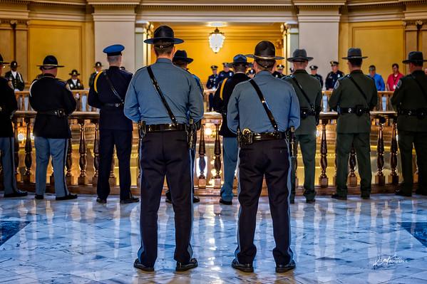 Kansas Law Enforcement Memorial Day , 2015