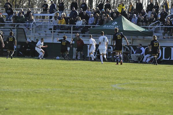 BABSON MENS SOCCER V  COLORADO COLLEGE  NCAA  11.10.2012
