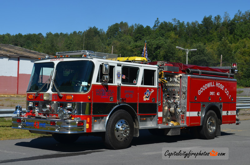 Frackville (Goodwill Hose Co. 1) Engine 43-15: 1988 Hahn 1250/800 (X-Cockeysville, MD)