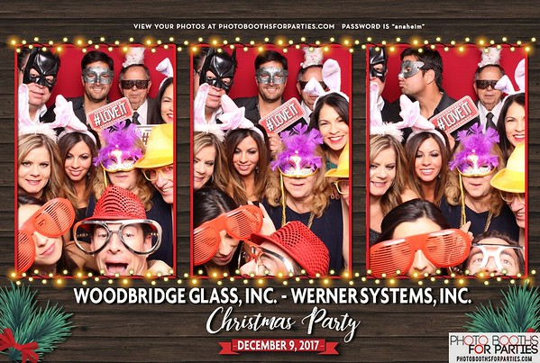 Woodbridge Glass & Werner Systems Christmas Party '17