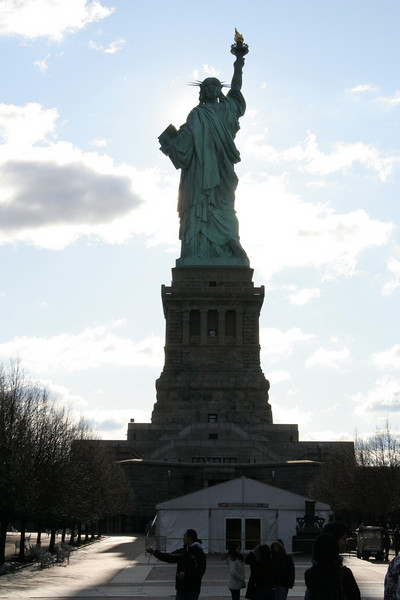 Statue of Liberty From Ferry