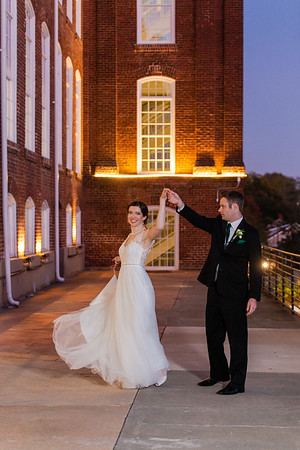 Mary Kyle & Andy | Art Deco Wedding at The Cotton Room