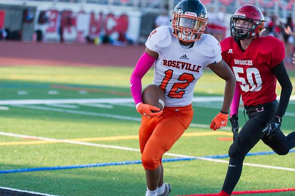 Roseville High School JV Football vs Bella Vista 10-25-19