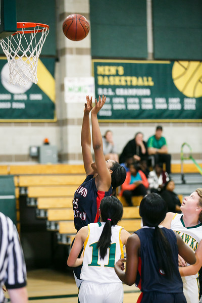 RCS Varsity GIrls' Basketball vs HR - Feb 12, 2015
