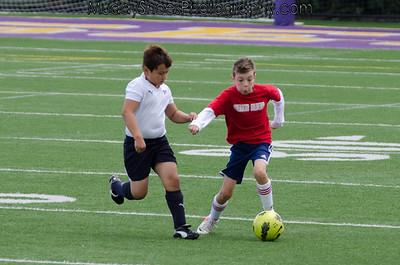 U11 game vs Kickers 09/08/12