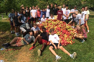 Freshman Day of Service - September 2015