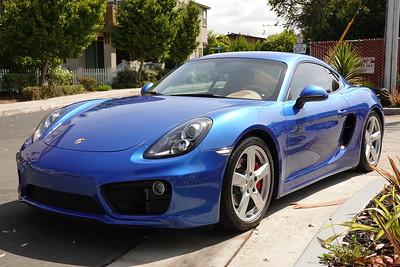 2016 Porsche Cayman S - Sapphire Blue - Full Stek Dynoshield Paint Protection Film with CQuartz Finest Reserve Ceramic Coating