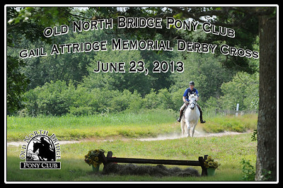 Old North Bridge Pony Club Gail Attridge Memorial Derby Cross, June 23, 2013