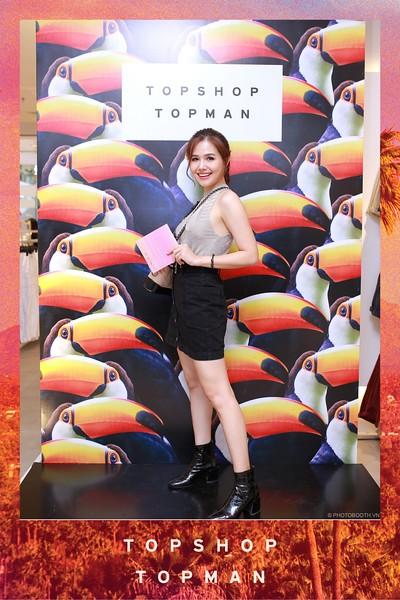 Topshop Topman Store Opening instant print photo booth @ Vincom Metropolis Lieu Giai - in ảnh lấy ngay Sự kiện tại Hà Nội - Photobooth Hanoi
