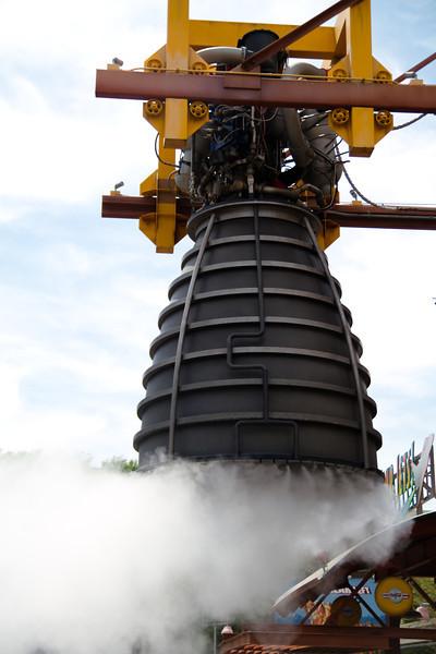 Rocket Engine Outside Soarin Over California