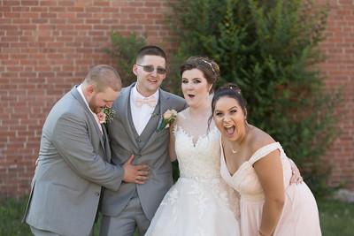 Group Portraits- Danielle & Andy Bruno Wedding Photography- Holy Trinity Westfield, MA/ Chez Josef Agawam, Mass.