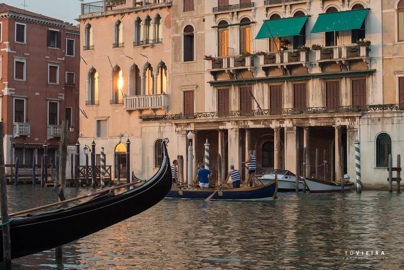 Lagoa de Veneza, Italia