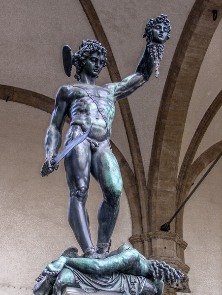 Piazza della Signoria-Perseus With the Head of Medusa