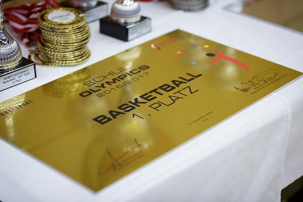 Basketball Schul Olympics 2016