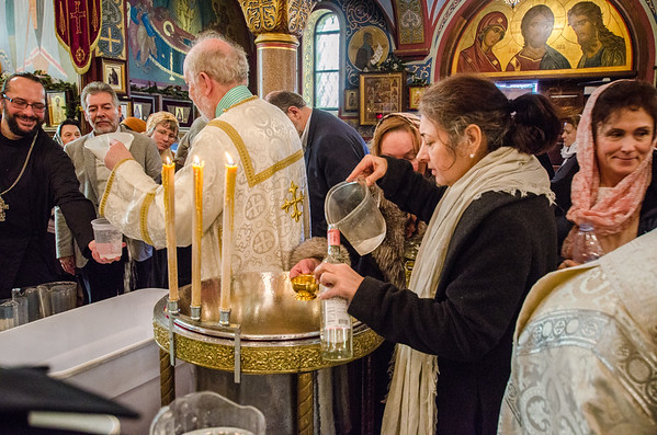 The Great Blessing of Water for the Feast of Theophany 2017
