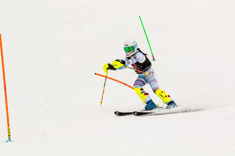 Isabella DONOFRIO No. 14 (WPRC) in the 2017 Willi's Slalom U8-U14 Women - Seven Springs