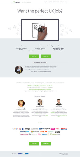 UXswitch - Putting the Experience back in to finding a UX job.jpeg