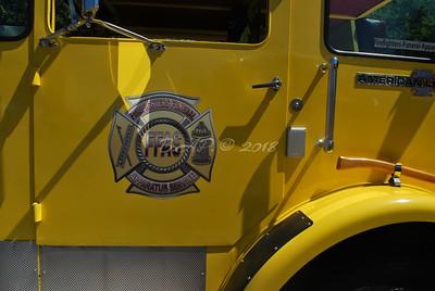 Firefighter Funeral Appratus Service