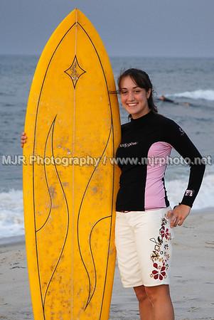 Surfing, Gilgo Beach, NY,  (7-13-07)