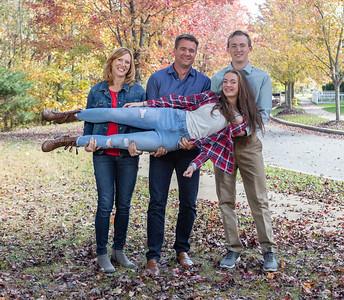 Trey, Lisa, Austin, and Bailey - Autumn 2018