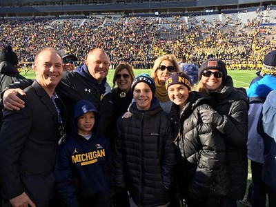 Nov. 25 - Ohio State at Michigan Football at Michigan Stadium