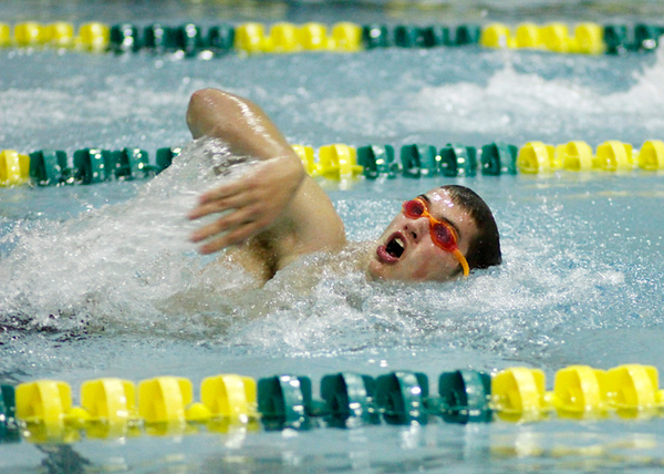SNHS Swimming vs BC 2012