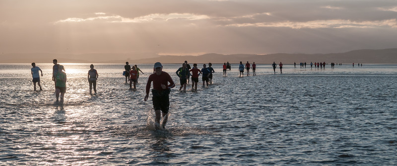 Cross Morecambe Bay Run 2015