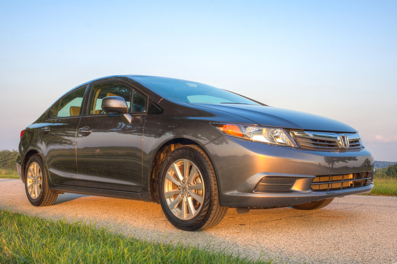 civic at sunset in valley forge-photomatix.jpg